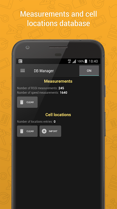 Cell Signal Monitor - mobile networks monitoring 5.1.1 Screen 5