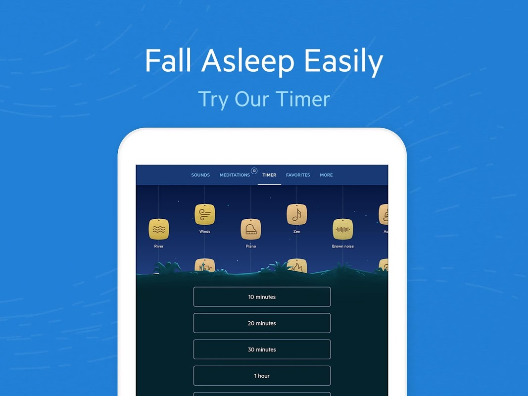 Android Relax Melodies: Sleep Sounds Screen 7