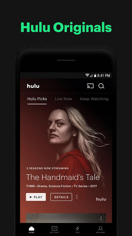 Hulu: Stream TV, Movies & more 3.63.0.307840 Screen 9