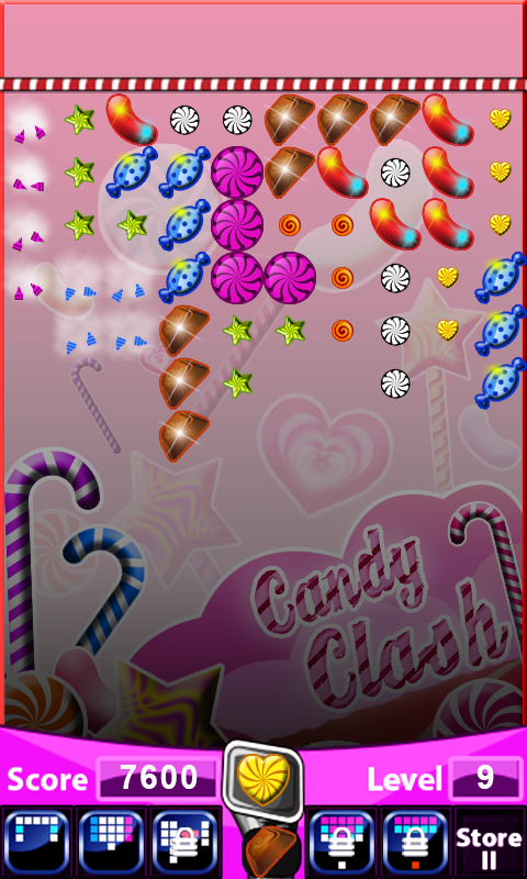 Android Candy Clash Screen 3