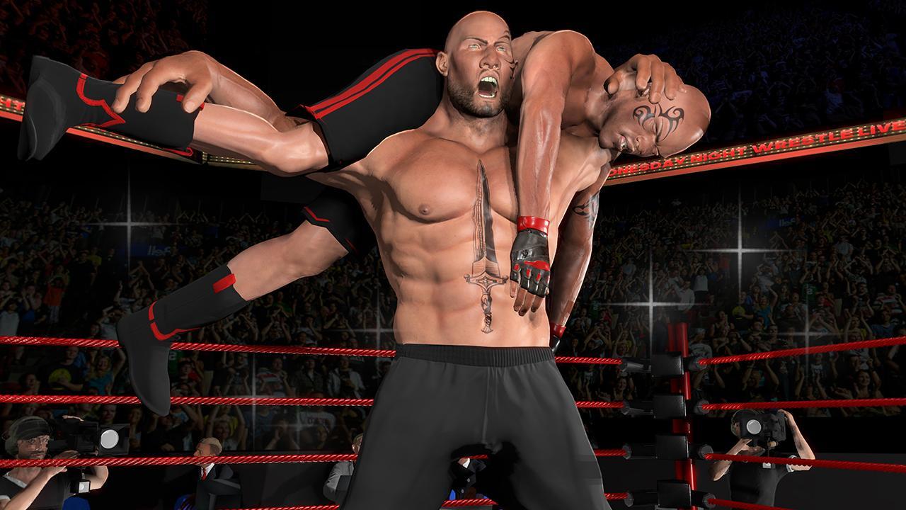 World Wrestling Ring : Free Wrestling Game 2018 1.1 Screen 1