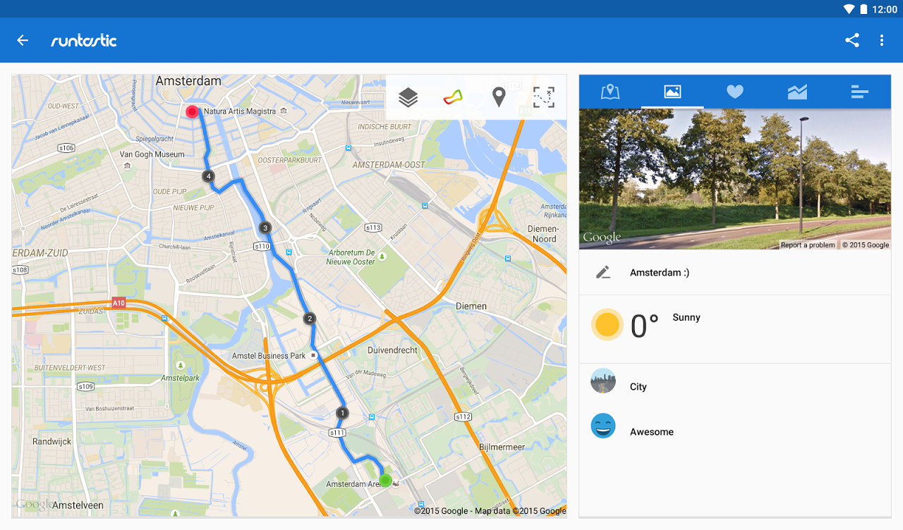Android Runtastic PRO Running, Fitness Screen 8