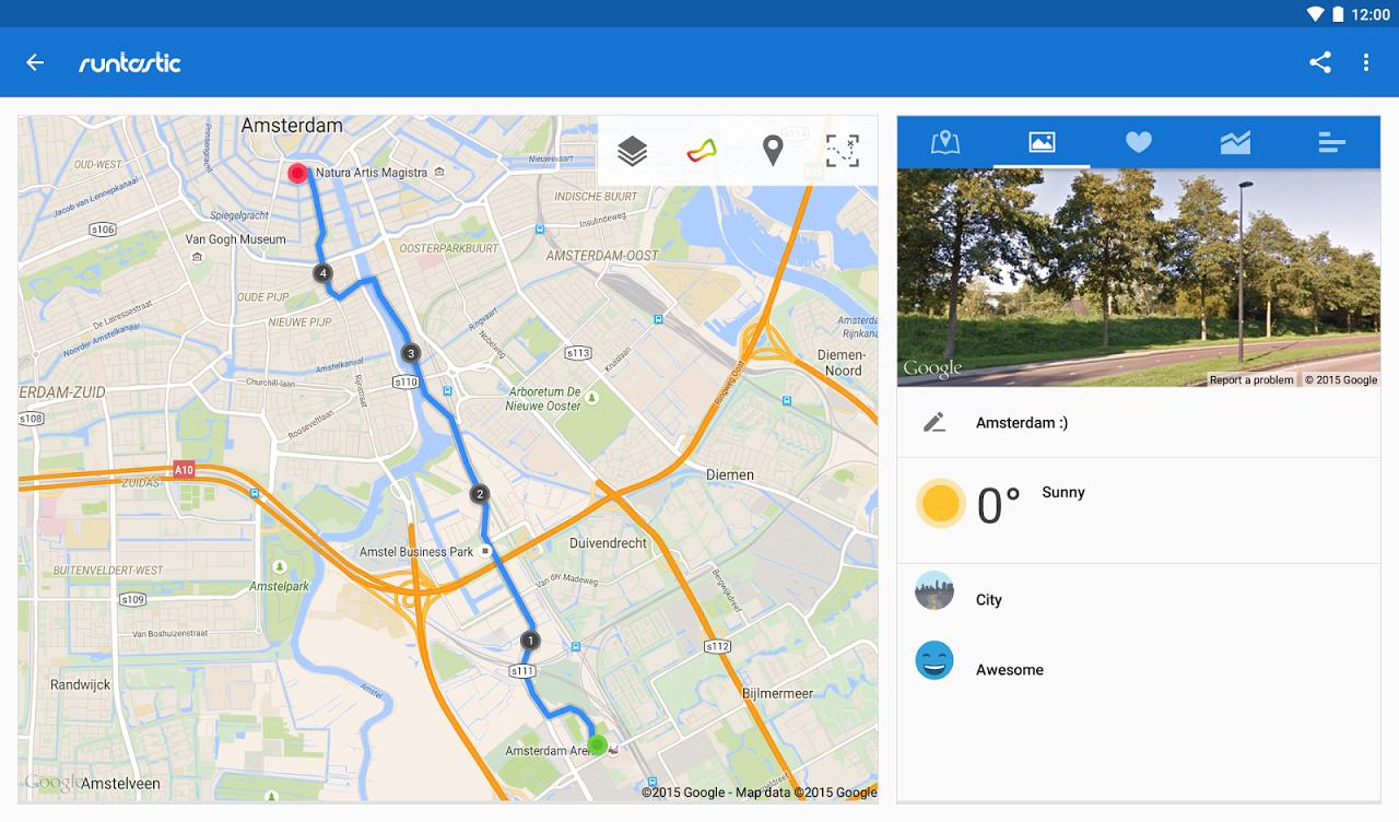 Runtastic PRO Running, Fitness 7.5.1 Screen 8