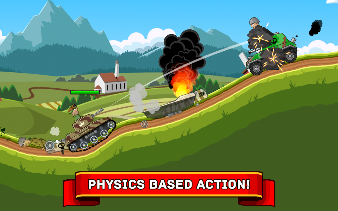 Android Hills of Steel Screen 4