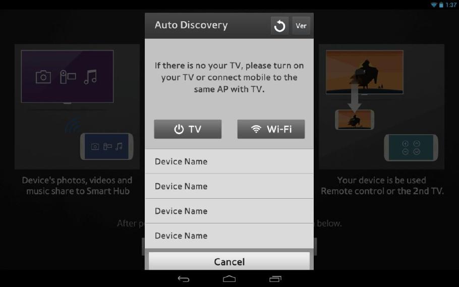Samsung Smart View 2.0 1.0.26 Screen 7