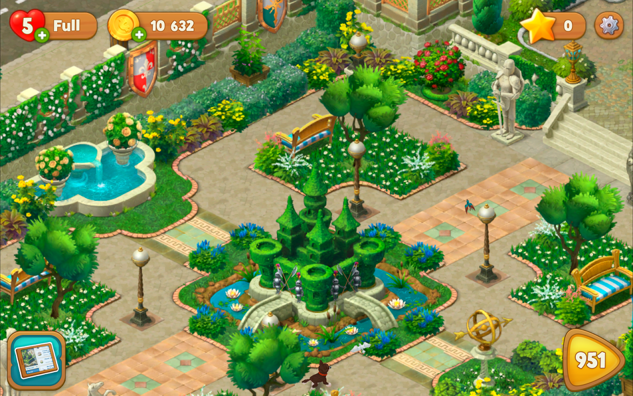 Android Gardenscapes Screen 7