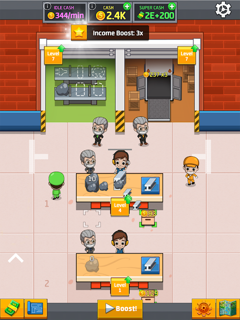 Idle Factory Tycoon 1.76.0 Screen 3