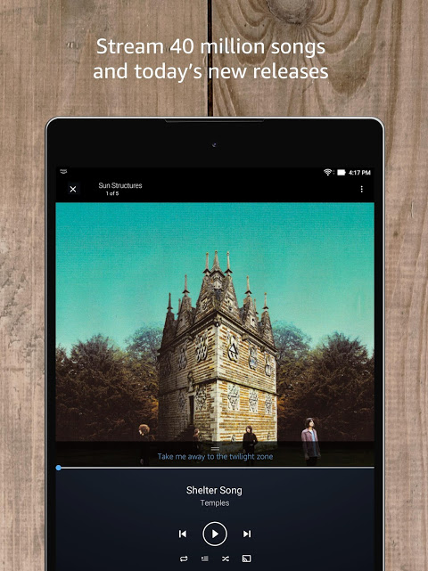 Android Amazon Music Screen 10