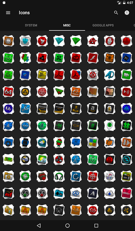 Android Stacks Icon Pack v4.2 Screen 22