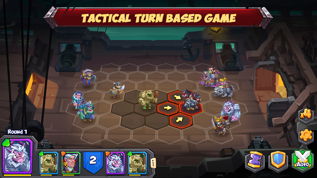 Android Tactical Monsters Rumble Arena -Tactics & Strategy Screen 6