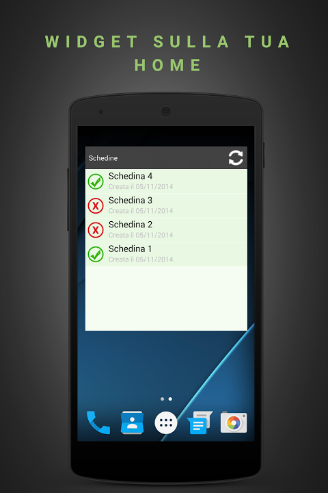 Android Schedina Live Screen 5