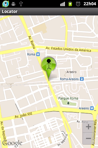 Android Locator Screen 7
