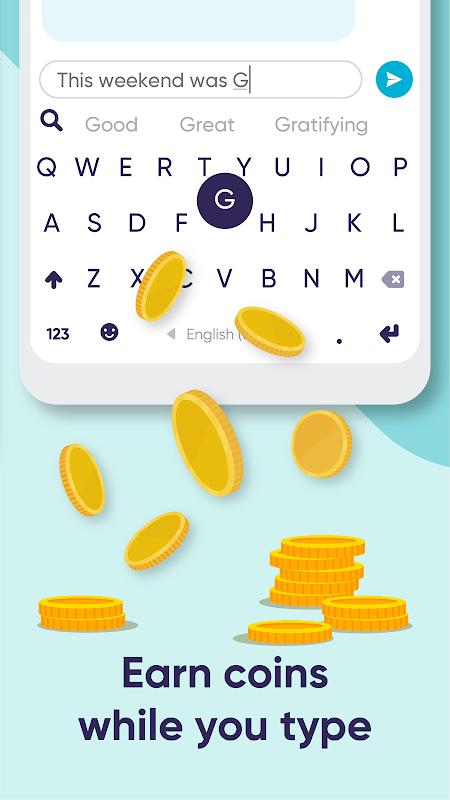 Android Fleksy: Fast Keyboard + Stickers, GIFs & Emojis Screen 3