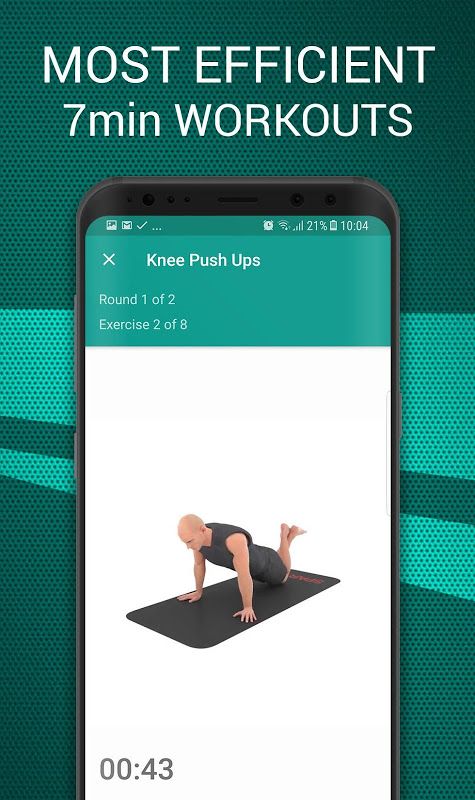 Android 7 Minute Workouts PRO - 99% DISCOUNT Screen 1