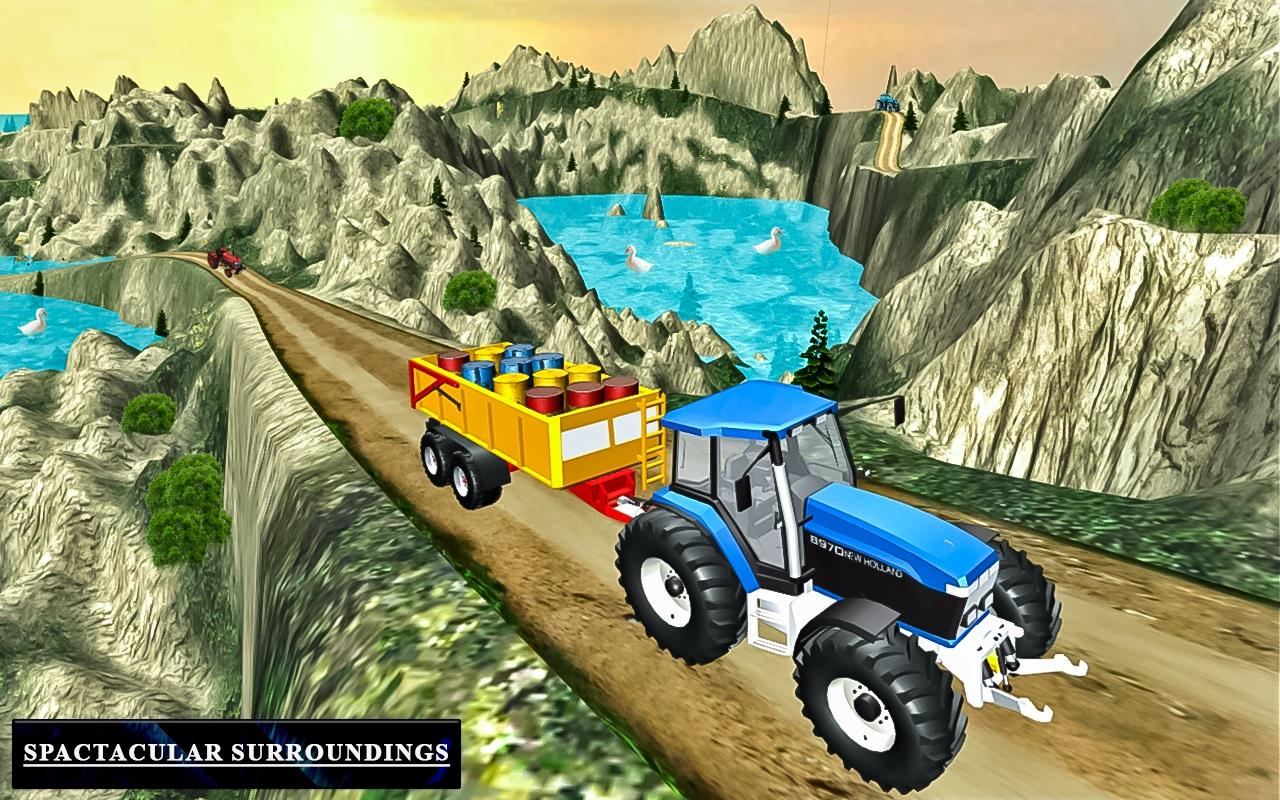Heavy Tractor Trolley Driver Simulator Game 1.0 Screen 3