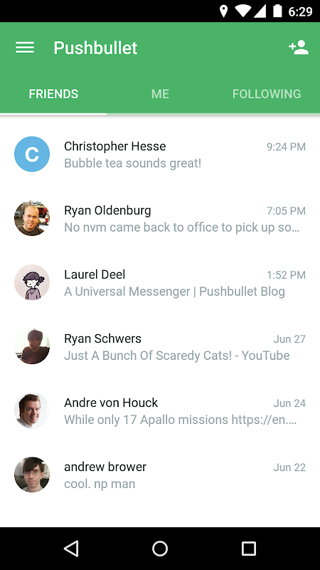 Pushbullet - SMS on PC 17.8.15 Screen 3
