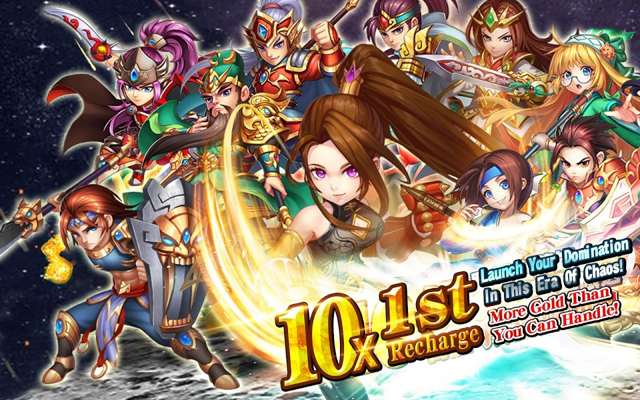 Android Idle kingdoms:10x Gold of 1st Top up Screen 3