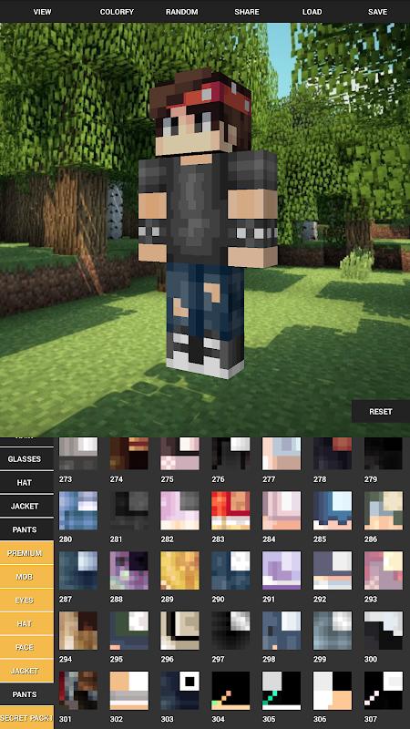 Custom Skin Creator For Minecraft 5.6 Screen 4