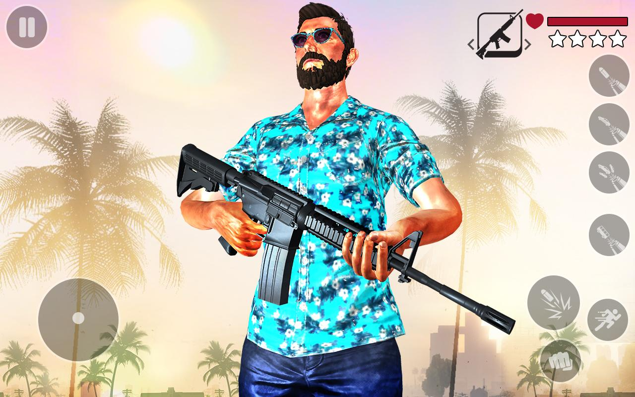 Android Real Gangster Miami Crime : Grand Auto Simulator Screen 2