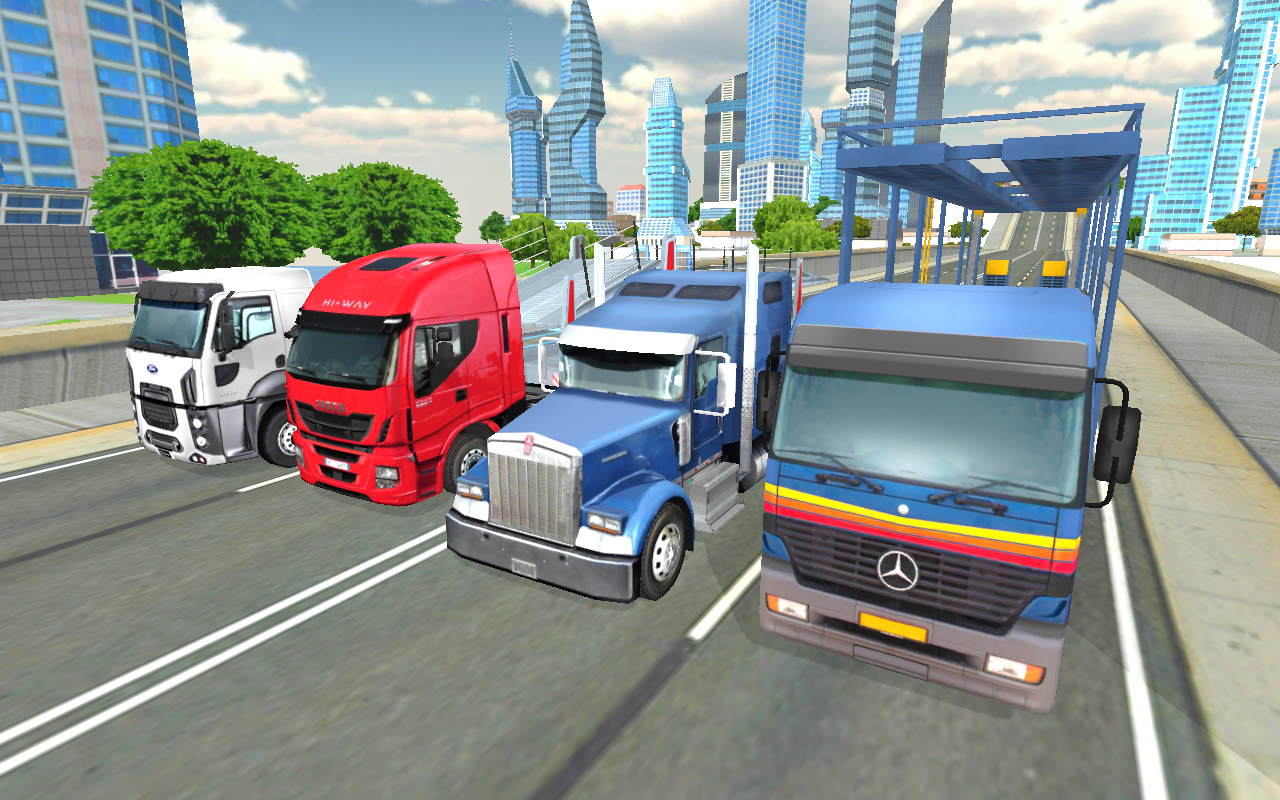 Android Truck Driver Simulator Pro Screen 6