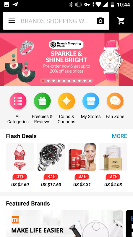 AliExpress Shopping App- $100 Coupons For New User 7.4.1-playgo Screen 8