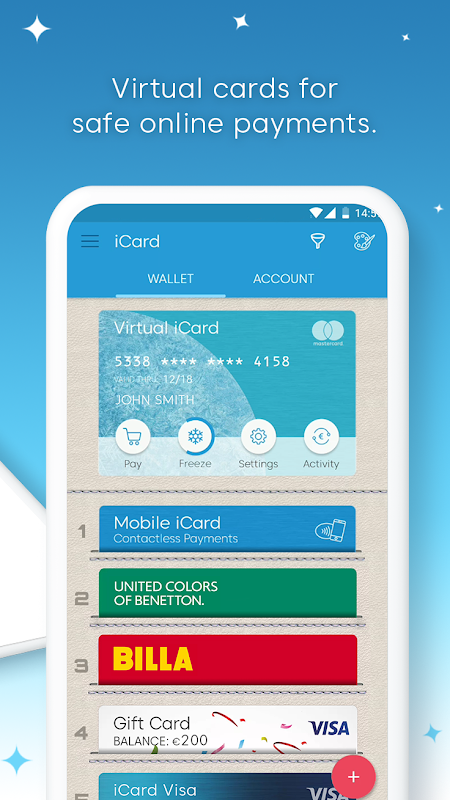 iCard – Digital Wallet for Payment & Loyalty Cards 4.0 Screen 4