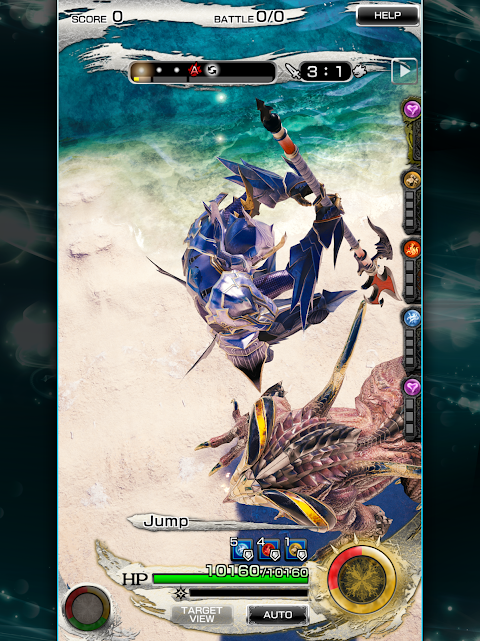 Android MOBIUS FINAL  FANTASY Screen 2