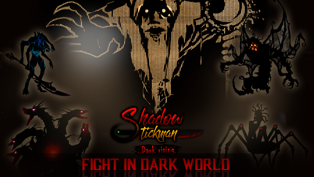 Android Shadow Stickman: Dark rising – Ninja warriors Screen 3