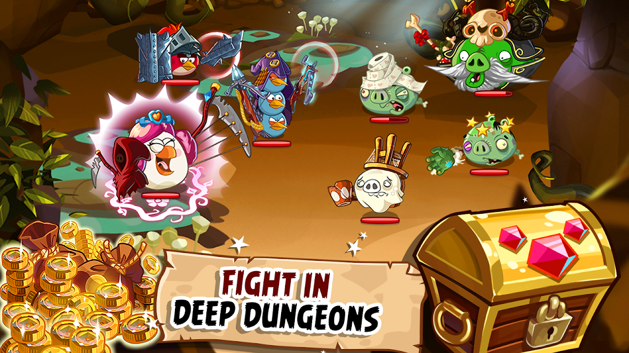Android Angry Birds Epic RPG Screen 8