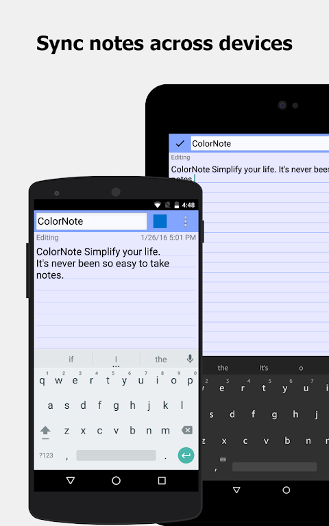 ColorNote Notepad Notes To do 4.1.0 Screen 9