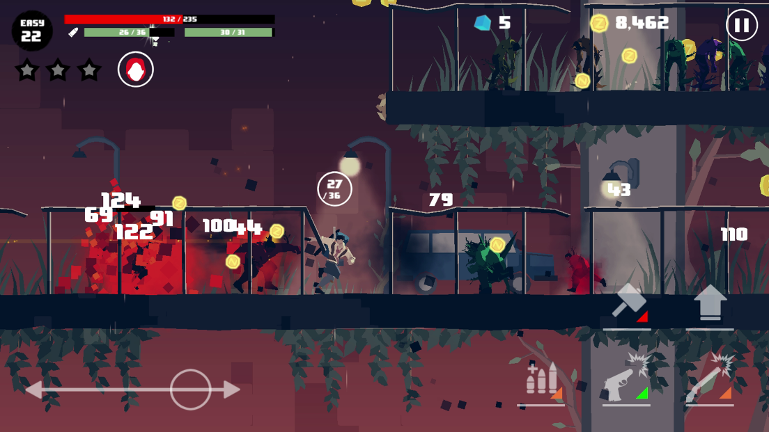 Dead Rain : New zombie virus 1.5 Screen 1