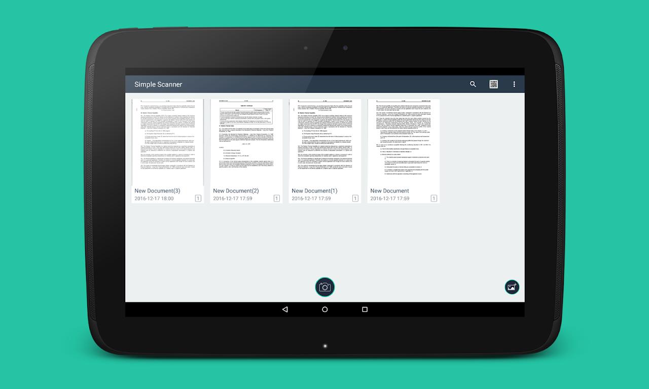Simple Scan Pro - PDF scanner 3.1 Screen 1