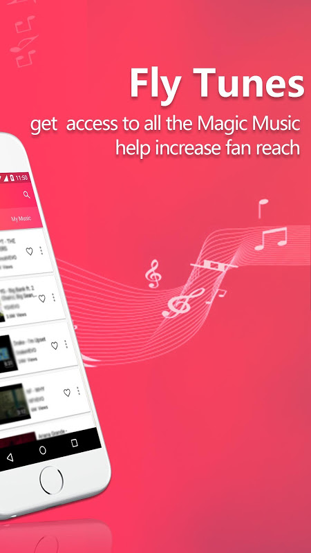 Fly Tunes | Free Music Player & YouTube Music 1.1.0 Screen 1