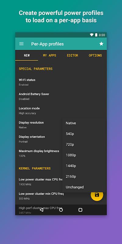 Android Kernel Manager for Franco Kernel ✨ Screen 7