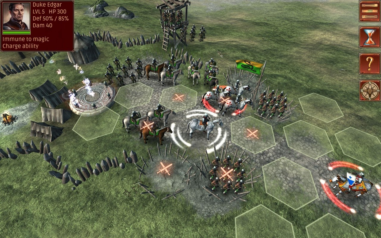 Android Hex Commander: Fantasy Heroes Screen 3