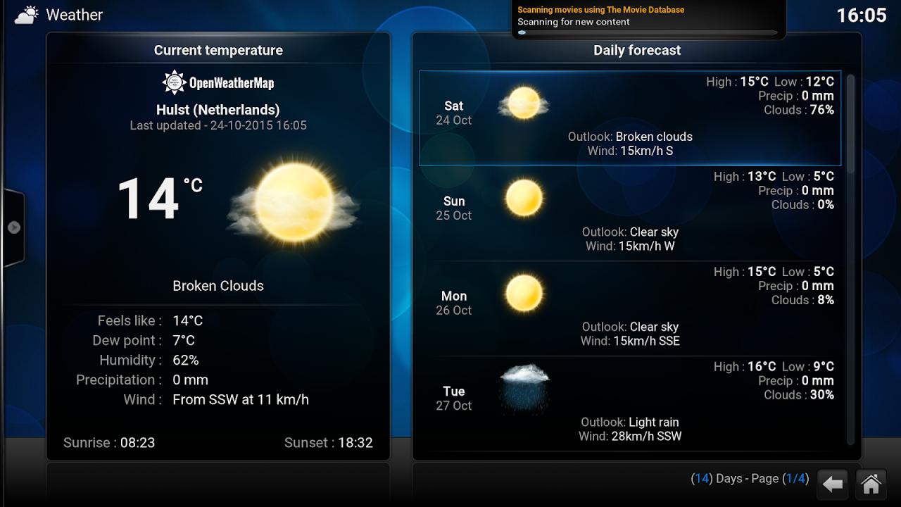 Kodi 16.1 Screen 5