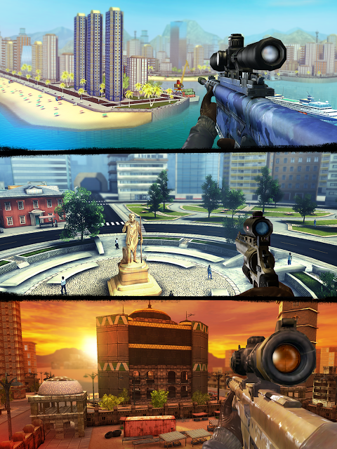 Android Sniper 3D Gun Shooter: Free Shooting Games - FPS Screen 2