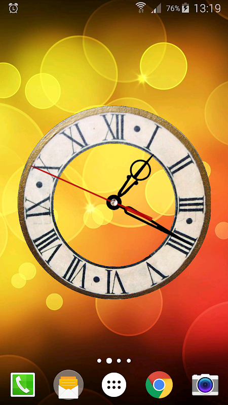 Battery Saving Analog Clocks Live Wallpaper 5.1 Screen 2