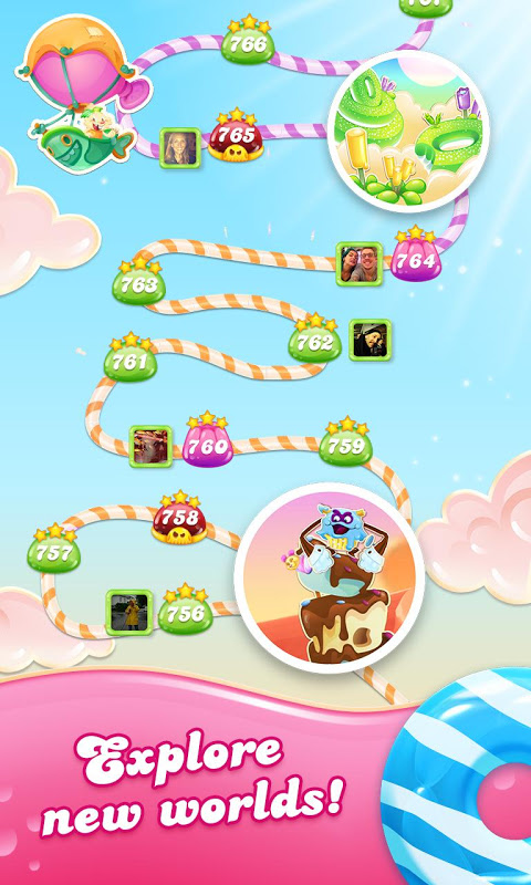 Android Candy Crush Jelly Saga Screen 4