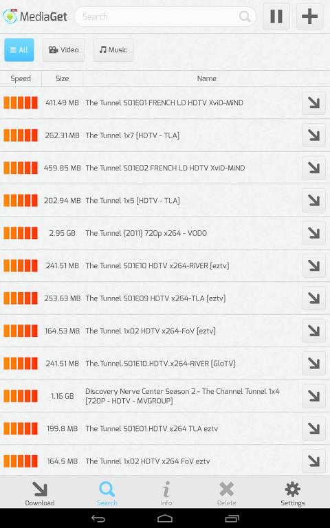 MediaGet 0.9.1 Screen 4