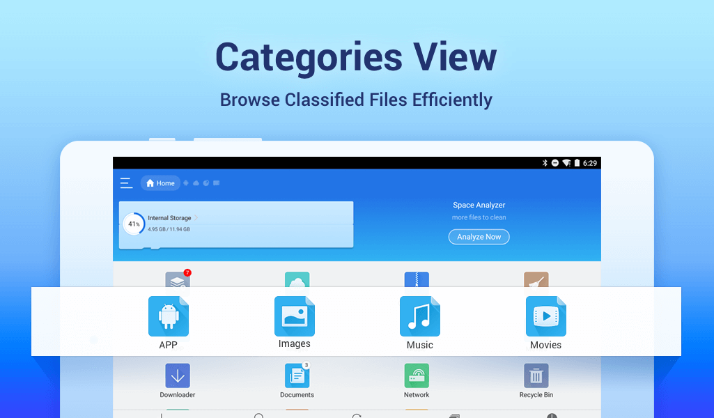 ES File Explorer/Manager PRO 4.1.9.3.2 Screen 3