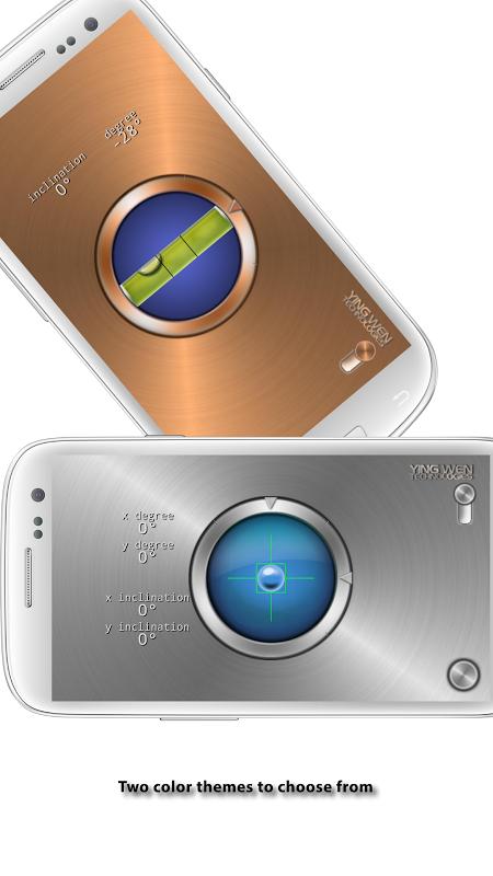 Android Advanced Bubble Level Screen 2