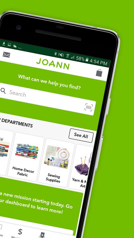 JOANN - Crafts & Coupons 6.0.9 Screen 1