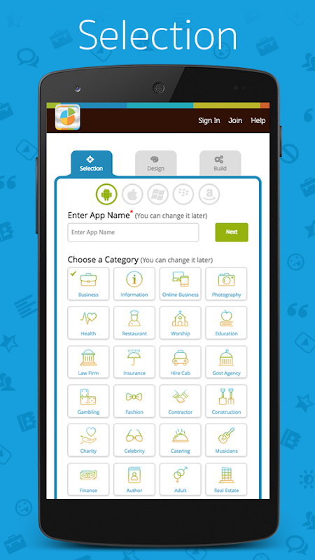 App Builder - Create own app ( FREE App maker ) 1.67 Screen 1