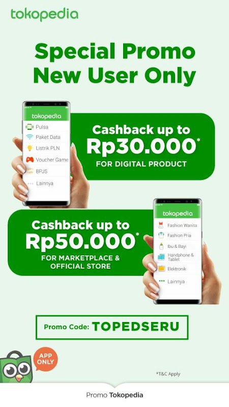 Android Tokopedia - Online Shopping, Pulsa & Payment Screen 8