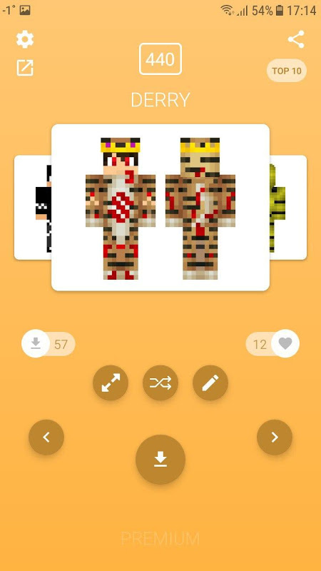 Skins for Minecraft PE 4.5.1 Screen 9