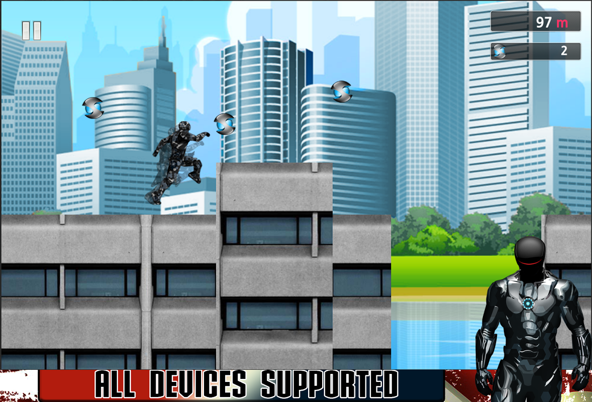 Android American Iron Avenger Screen 2