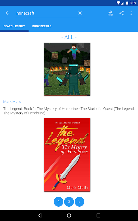 Android Free eBooks for Kindle Screen 14