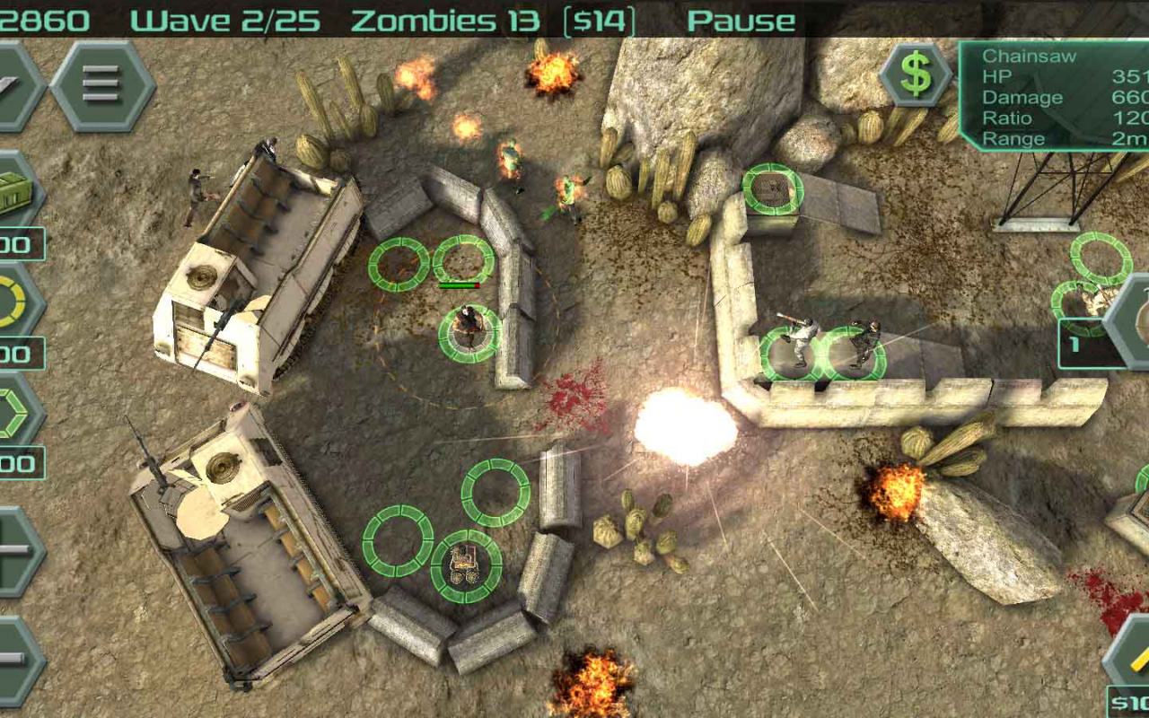 Android Zombie Defense Screen 7