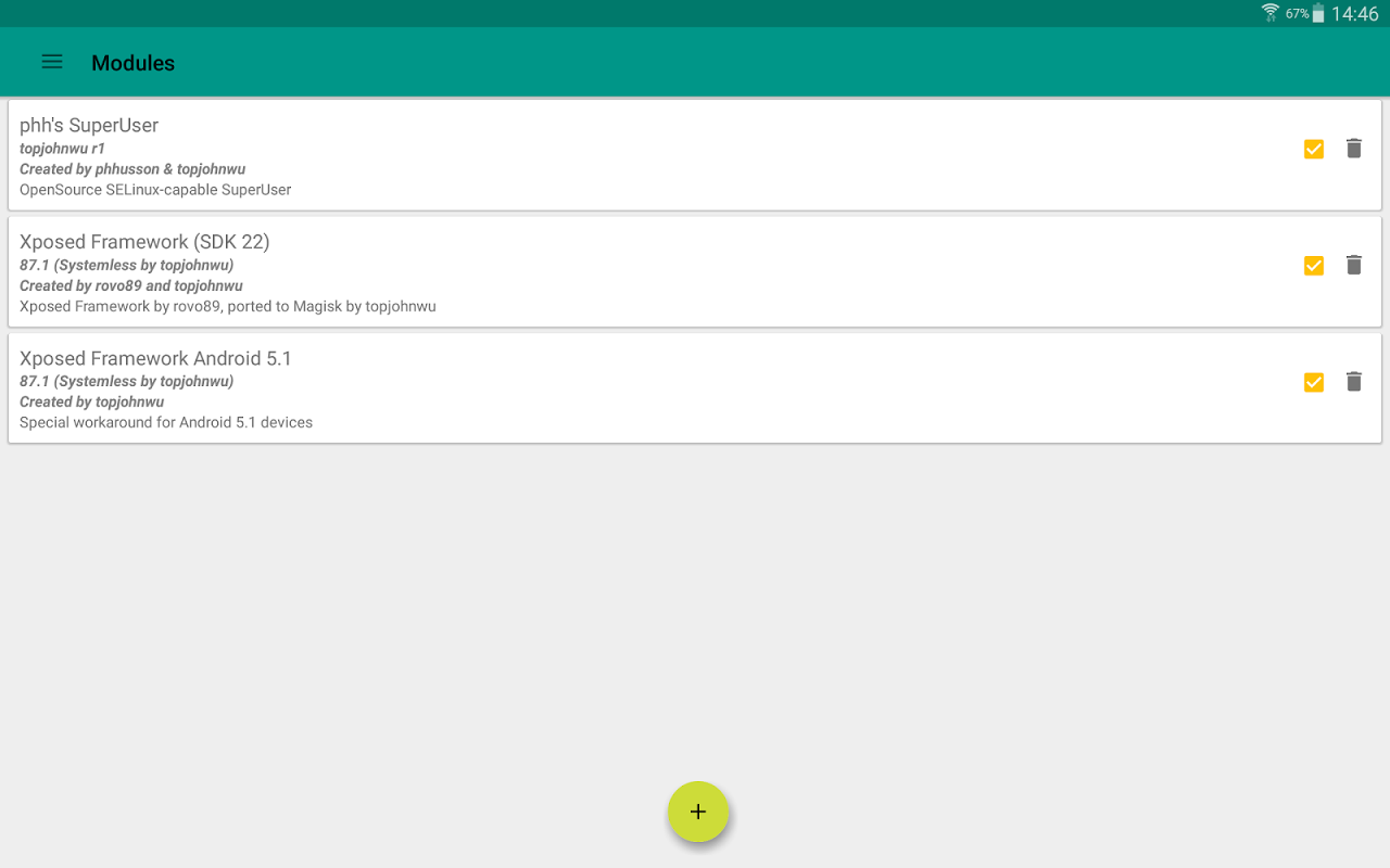 Magisk Manager 5.6.4 Screen 7